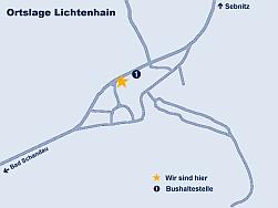 Sächsische Schweiz - Pension - Lage