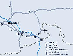 Saxon Switzerland - holidays - get there