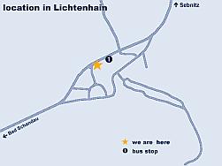 Saxon Switzerland - Guesthouse - Location
